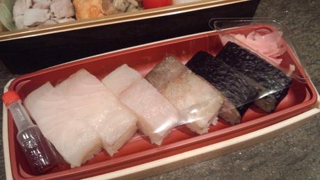 勘八と高菜寿司