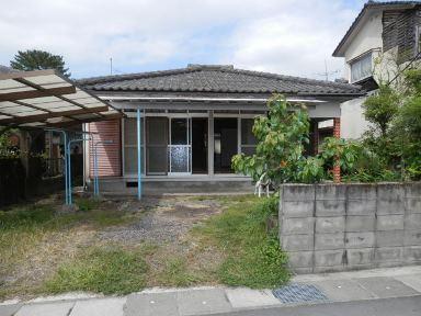 姶良市平松【売家】和風3DK木造平屋建住宅南向650万円