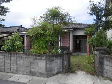 姶良市平松【貸家】3DK木造セメント瓦葺平屋建20.5坪42,000円