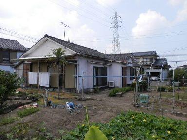 指宿市十町【売家】菜園付古民家風木造4SK平屋建750万円