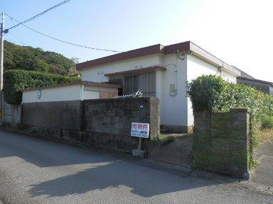 枕崎市山手町【売家】鉄筋コンクリート造2DK平屋600万円