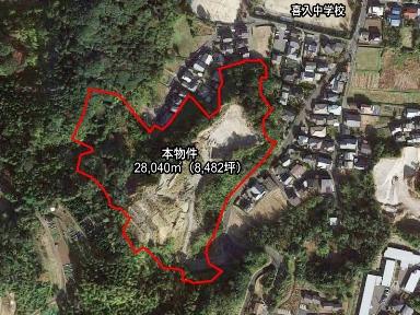 鹿児島市喜入町【売地】一部造成着手8,497坪2,000万円