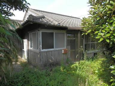 熊毛郡中種子町野間【売屋】古平屋5DK木造南向260万円
