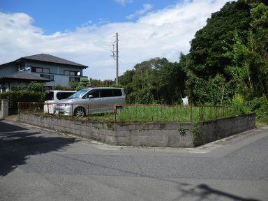 鹿児島市吉野町【売地】南向き角地72.6坪更地即建築可450万円